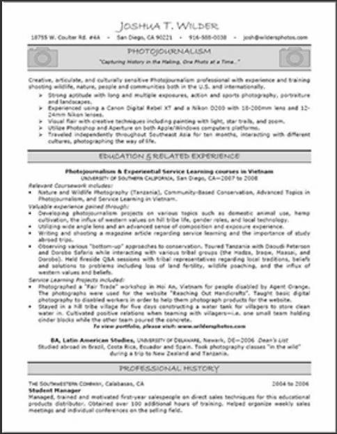 web address - Professional Resume Services