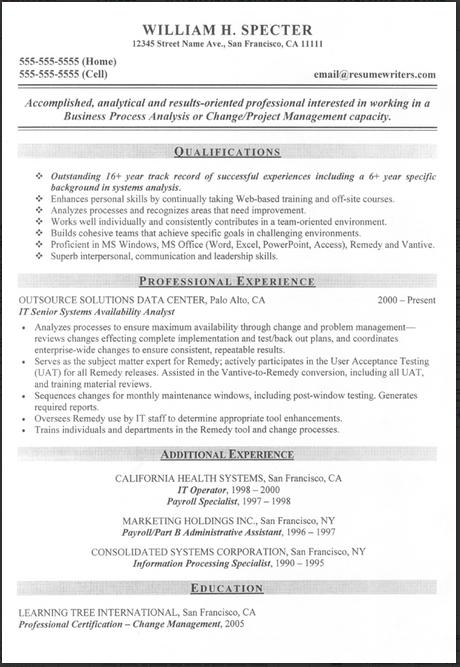 resume writers san francisco