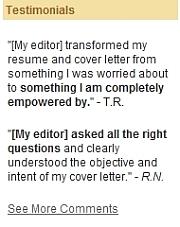Resume edge review